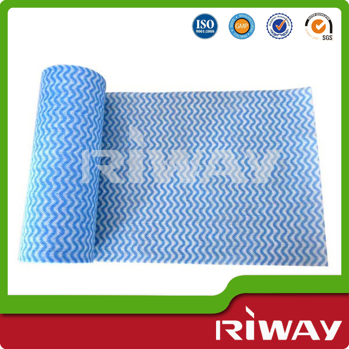 Disposable kitchen cleaning towel