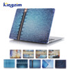 Jean Pattern Water Transfer Printing Hard Case for Mac Book Air 11.6 Protective Cover