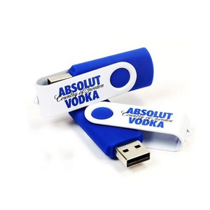 Customized logo printing 8gb 16gb swivel usb pen drive coloful rotating usb flash drive