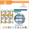 m080112 clear neutral silicone sealant for wood concrete aluminum marbles