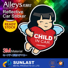 Sunlast Ready Stock soft PVC Window/Car Sticker Vinyl sticker FG818