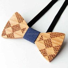 Amazon Hot Marketing Men's Bow Tie wooden For Suit Handmade New Product