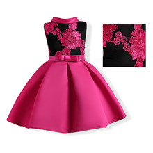 Latest baby girl party dress children frocks designs evening dress 2017