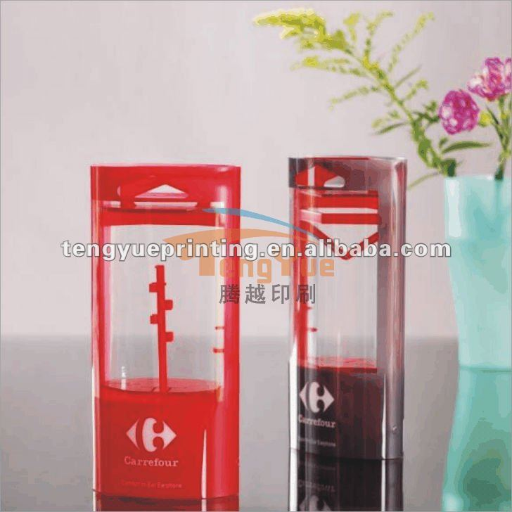 Manufacture packaging box materials pvc