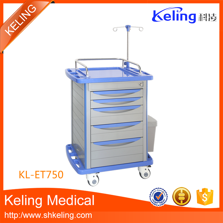 Different styles new product chart holder emergency cart
