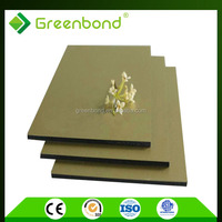 Greenbond durable aluminium composite facade panel for kitchen cabinets
