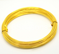 Alibaba Wholesale Gold Plated Jewelry Making Aluminum Wire