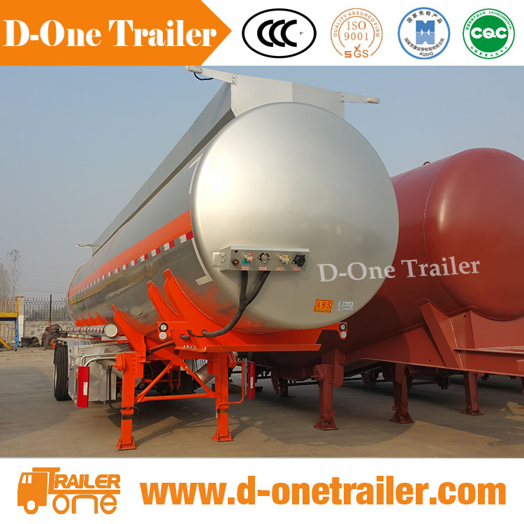 45000 litre 30cbm small jet mitsubishi fuso fuel tank truck 20ton semi trailer with 3 axles for sale