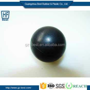 Customized Colorful Rubber Coated Steel Ball With Different Size