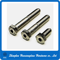 China OEM Customized M10 17mm Hollow Stainless Steel Mounting Bolts