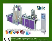 fully automatic ultrasonic non woven bag making machine manual