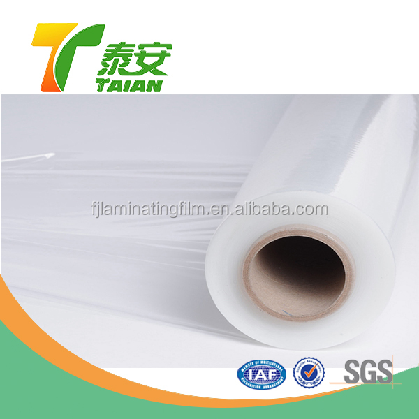 polyethylene surface protection Transparent pallet thermal laminating film
