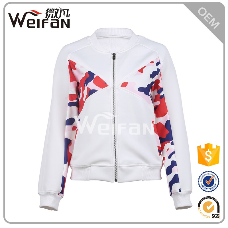 New Baseball Style Crewneck Sweatshirt&Woman Jacket Zip Up Hoodies Wholesale