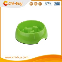 Chi-buy Samll Slow Feed Melamine Dog Bowls Custom Puppy Bowl Free Shipping on order 49usd