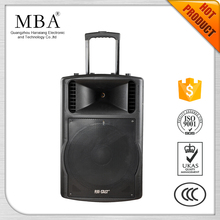 Super power amplifier sound system outdoor plastic box portable bluetooth speaker