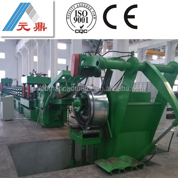 1080 color roofing glazed tile roll forming machine for steel