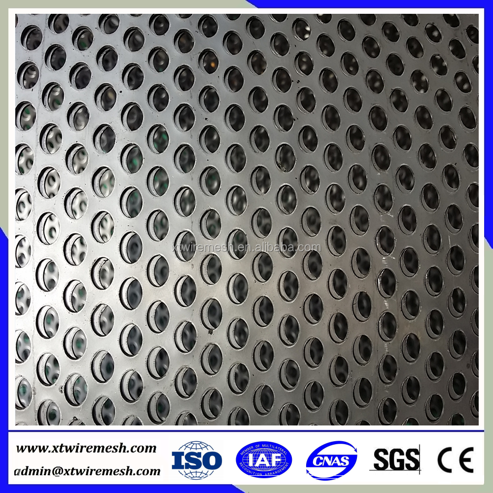 aluminum punching round hole meshes perforated metal panel ( factory&manufacturer)