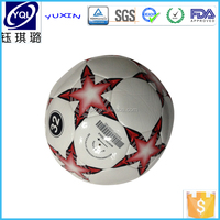 High glossy Printable TPU laminated synthetic leather for soccer&football