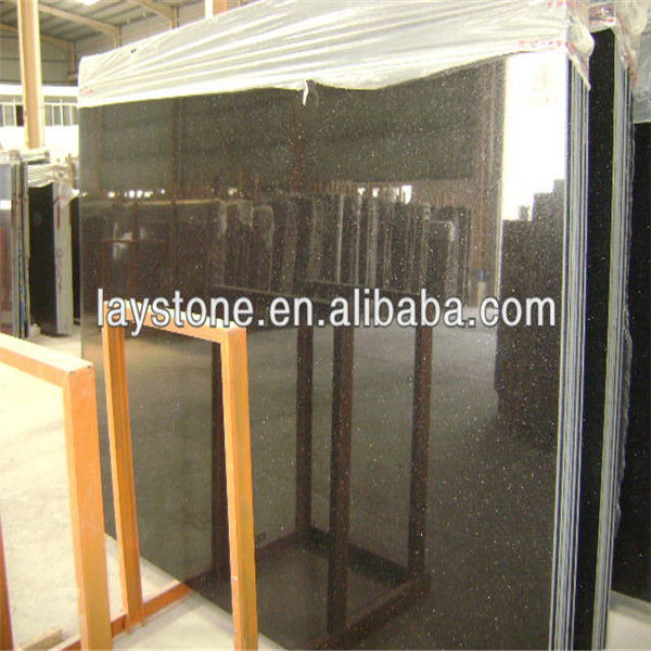 Big slab stone form brown star galaxy granite price