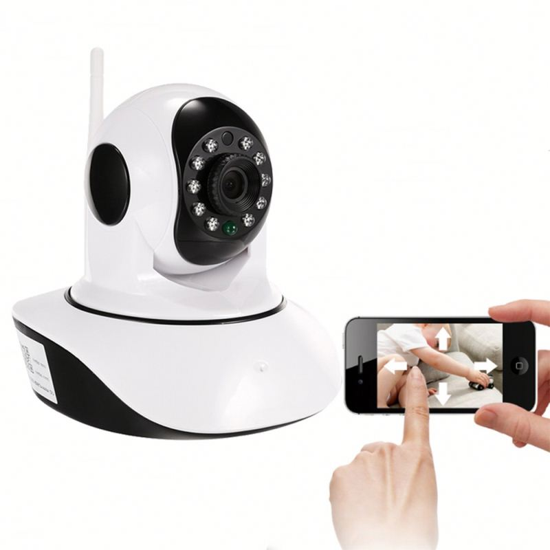 cheapest 720P HD infrare onvif SD ard mition detect remote control mini security camera home surveillance wireless