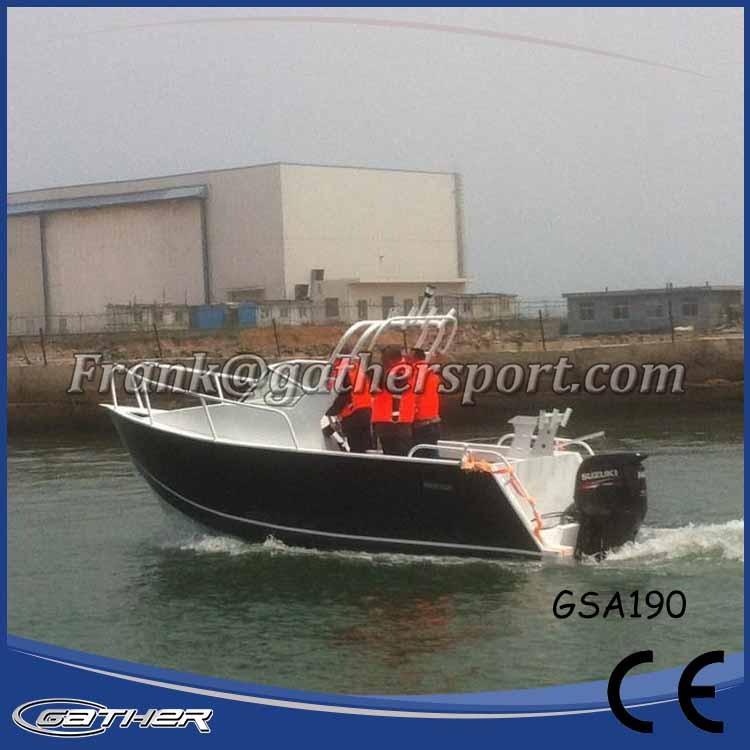 Factory Directly Provide China Alibaba Supplier Crew Aluminum Boat
