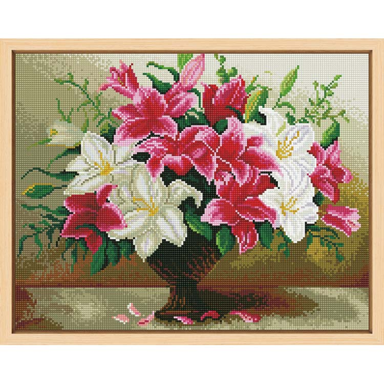Latest arrival diy diamond painting on canvas diamond painting kits eco canvas diamond painting