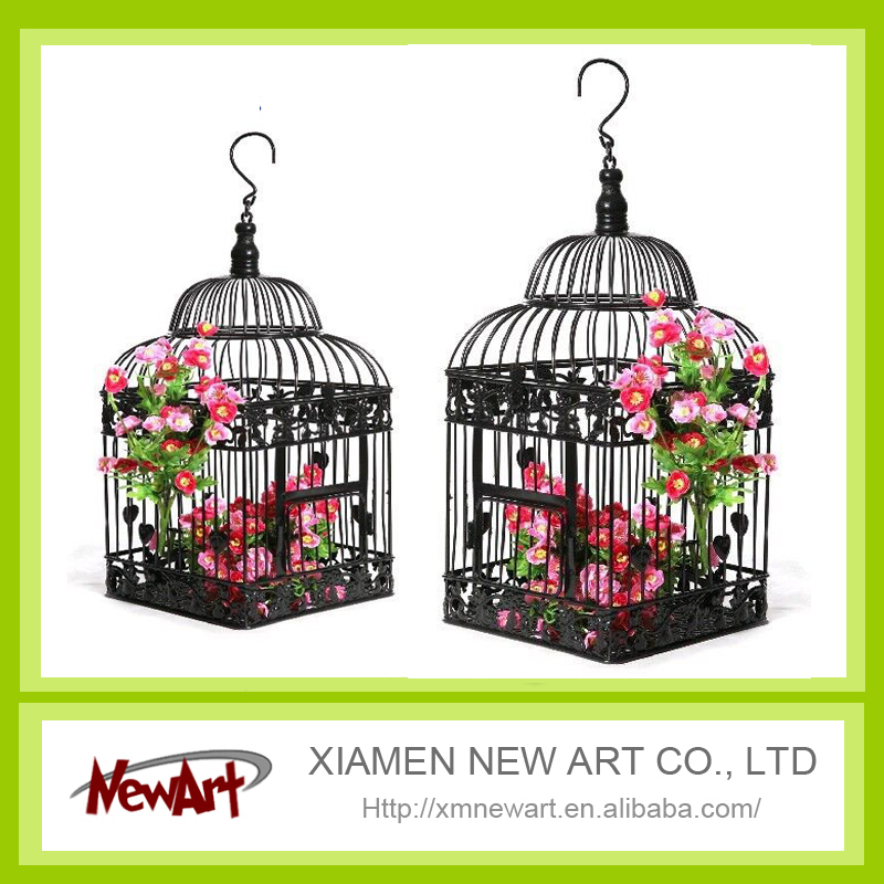 2017 decorative bird cages for weddings cheap cages