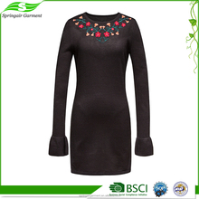 High Quality Cheap Korean Design One Piece Casual Stylish Ladies Office Wear Dresses Dress