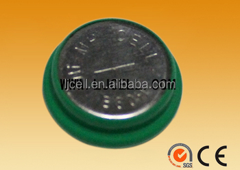 1.2v battery 40mah NI-MH rechargeable button cell battery