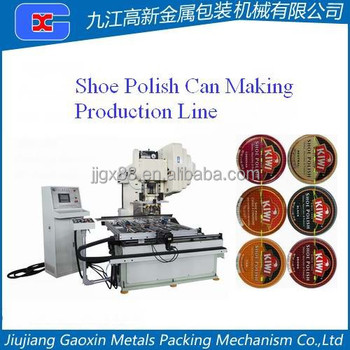 Shoe Polish Can Making Production Line