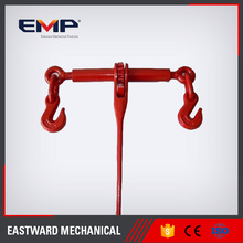 Red Paint Pole Line Hardware Drop Forged Ratchet Type Load Binder Rigging Hardware