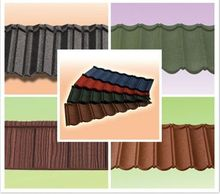 stone coated metal roof tile/economic home roof/linyi construction materials sancidalo roof tile asphalt shingles