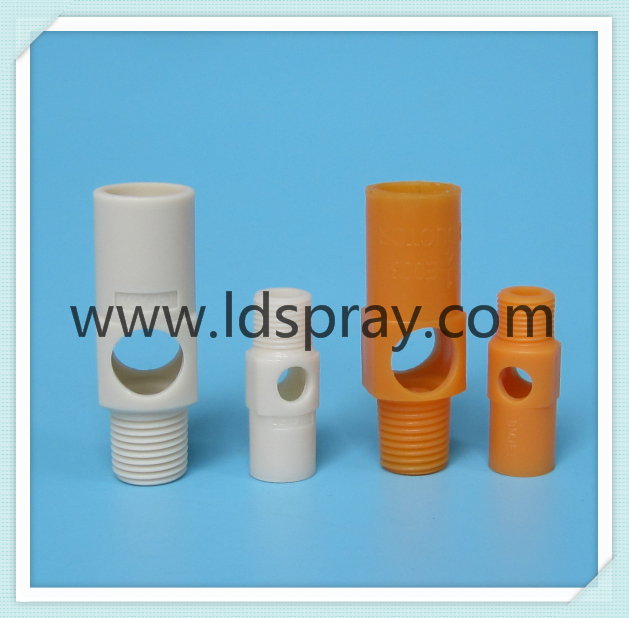 Orange or grey Plastic PP eductor liquid water mixing nozzle
