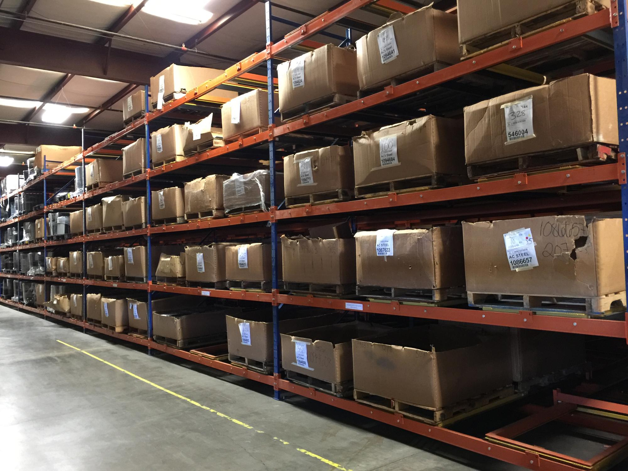 CE Certificate Custom Warehouse Storage Shelving Handling Push Back Racks