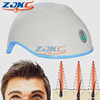 to repair Damaged Hair hair loss with 650nm red light laser therapy cap