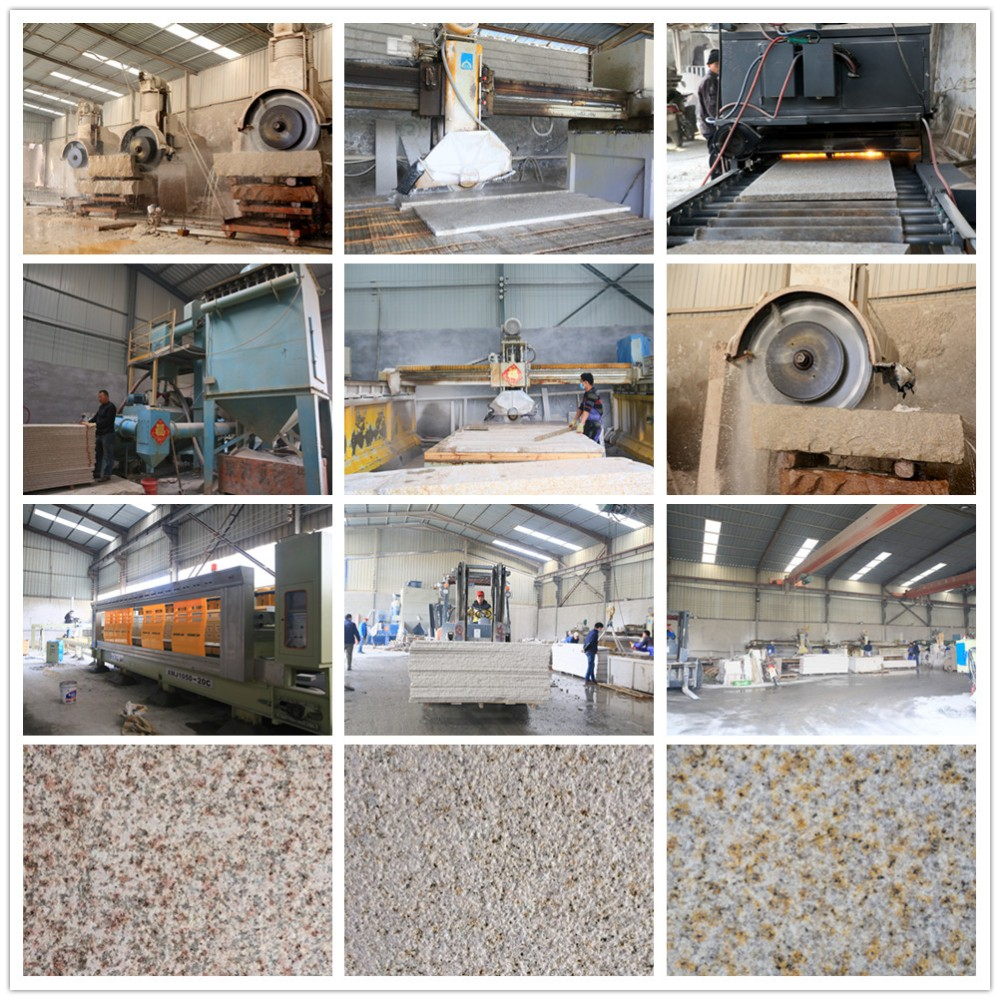 Shandong rusty fusion granite stone with cheap price