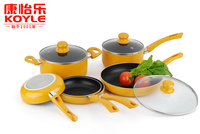 Kitchen accessories non-stick cookware 5pcs/6pcs cookware set