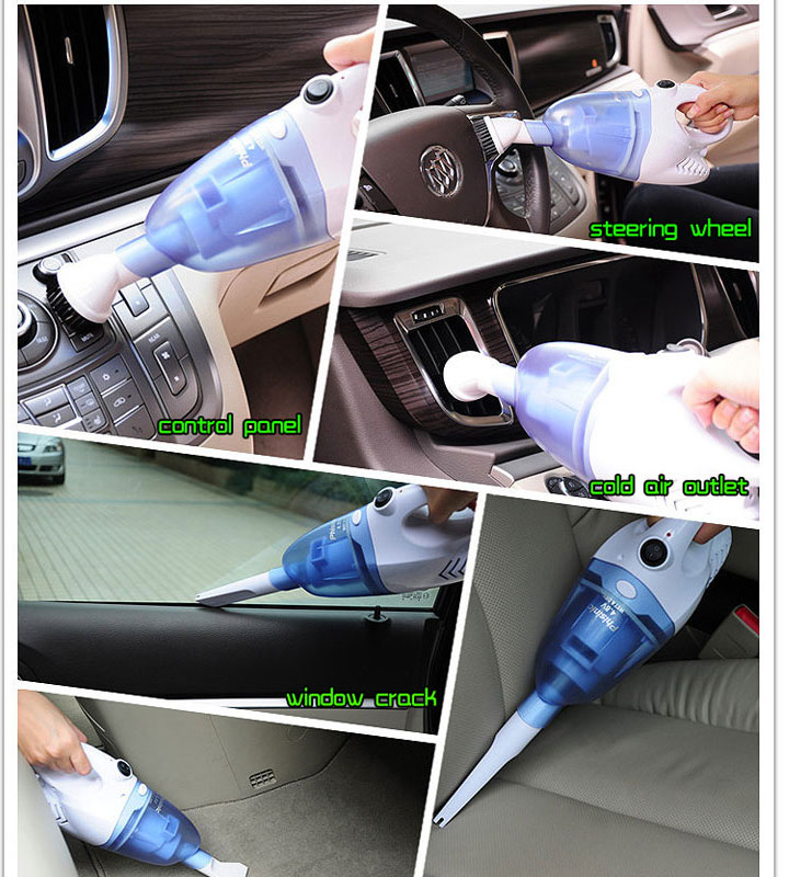 Mini handy Wet and Dry car vacuum cleaner clean the dust free desktop vacuums