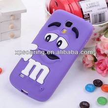 Mobile phone cute silicone case for Samsung I9190