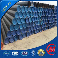 seamless black carbon steel pipe weight per meter