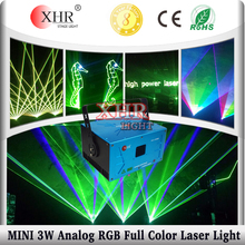 XHR Hot Sale 3W Mini Laser Projector,Animation Wedding Laser Lighting