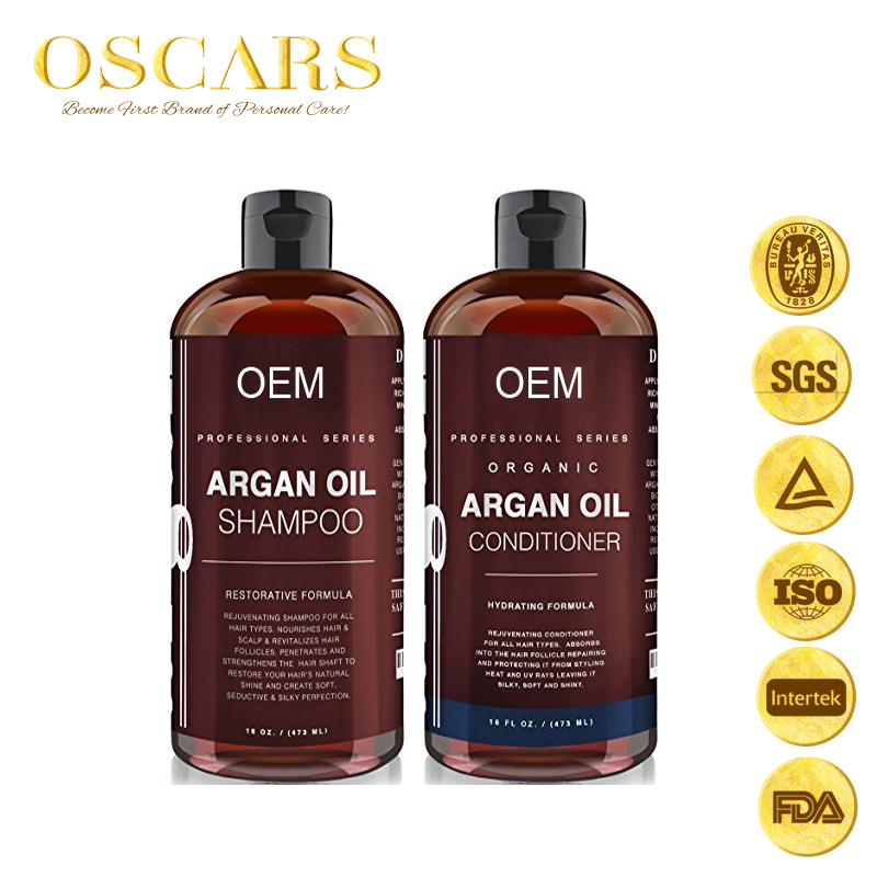 Wholesale Price Good Quality shampoo conditioner essential oil set Color Saved Deep Cleansing for black hair care