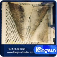 Frozen Pacific Cod Fillet 2-8OZ, frozen cod