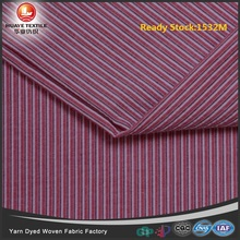 Ready Stock Yarn dyed wholesale quality 100 Cotton strip seersucker fabric for shirt