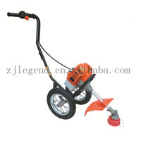 Hand push brush cutter Grass trimmier Lawn mower