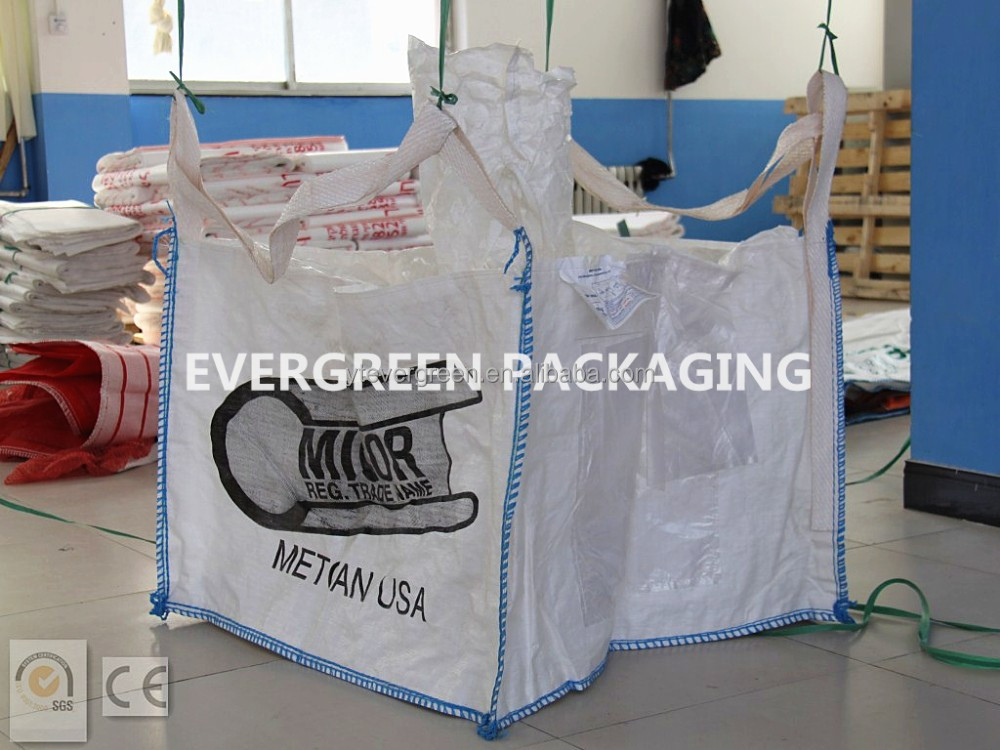 top quality FIBC BAG PP WOVEN BAG <strong>rolls</strong>/1.5ton pp big bag
