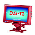 "7"" Portable HD Freeview DVB-T/DVB-T2 H.265 decorder TV/HD Aerial included"