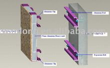 Stone Exterior Wall Cladding System