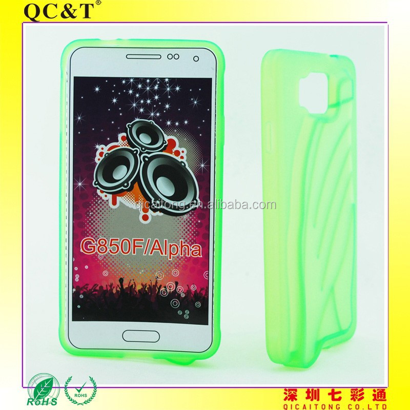 G850F Alpha loudspeaker TPU case for Smart phone case