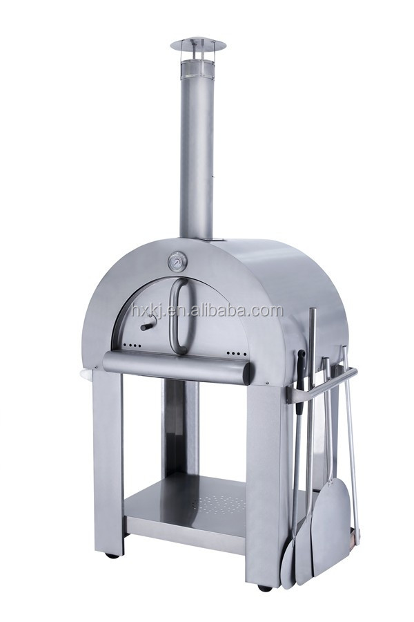 Outdoor stainless steel clay pizza oven for sale